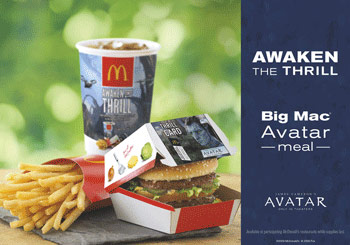 Avatar Big Mac meal