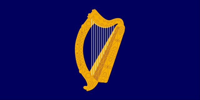 Irish Presidential flag