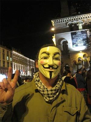 Occupy Dame Street, Dublin