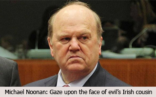 Michael Noonan (the face of evil)