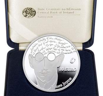 James Joyce coin